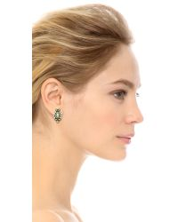 Samantha Wills - Metallic World From Here Grand Stud Earrings - Burnished Gold - Lyst