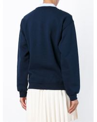 Michaela Buerger - Blue 'where I Stand' Sweater - Lyst