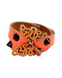 Almala | Orange Bracelet | Lyst