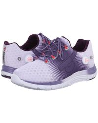 Reebok | Purple Zpump Fusion | Lyst