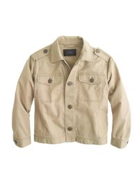 J.Crew | Natural Relaxed Military Shirt-jacket | Lyst