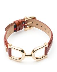 Tommy Hilfiger | Brown Mariner Leather Bracelet | Lyst