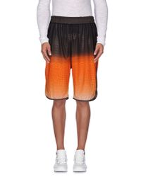 Paura - Orange Bermuda Shorts for Men - Lyst