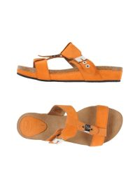 Scholl | Orange Sandals | Lyst