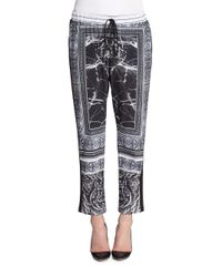 Clover Canyon Black Etched Marble Pants