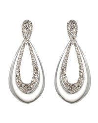 Alexis Bittar | Metallic Crystal Deco Tear Drop Clip Earring | Lyst