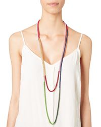 Lucy Folk   Multicolor Multi Poison Ivy Chain Necklace   Lyst