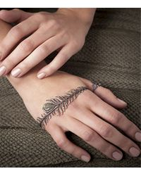 Annoushka - White Mythology Tsar Feather Palm Cuff - Lyst