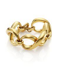 Vaubel - Metallic Infinity Link Bracelet - Lyst
