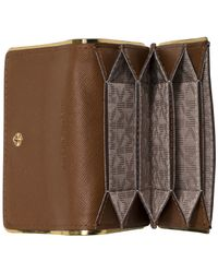Michael Kors | Natural Michael Accordion Card Case | Lyst