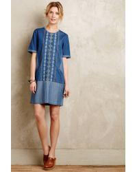 Conditions Apply | Blue Diamond Lane Tunic Dress | Lyst