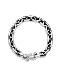 David Yurman - Metallic Oval Link Bracelet for Men - Lyst