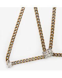 Unearthen - Metallic Arae Necklace - Lyst