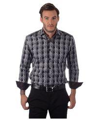 Bertigo | Blue L/s Primo Checkered for Men | Lyst