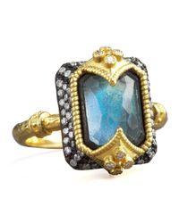 Armenta | Metallic Dulcinea Labradorite Ring | Lyst