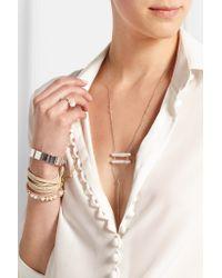 Chan Luu - Metallic Silver Pearl Necklace - Lyst
