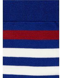 Falke - Red Maritime Stripe Crew Socks for Men - Lyst