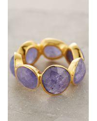 Anthropologie | Purple Rosecut Royalty Ring | Lyst