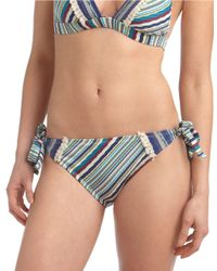 Lucky Brand | Blue Hipster Swim Bottom | Lyst