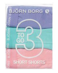 Björn Borg - Pink Plain Trunk for Men - Lyst