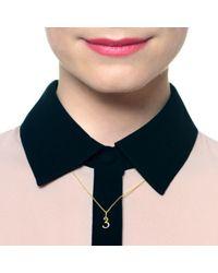 Lulu Frost - Metallic Code Number 14kt #3 Necklace - Lyst