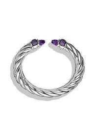David Yurman   Purple Waverly Bracelet, 18mm   Lyst