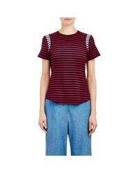 Harvey Faircloth - Multicolor Sailor Stripe T-shirt - Lyst