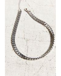 Urban Outfitters - Metallic Halsey Street Choker Necklace - Lyst