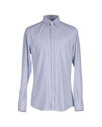 Dolce & Gabbana - Blue Shirt for Men - Lyst