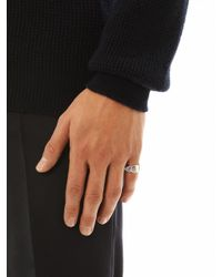 Dominic Jones - Metallic Pius Ring - Lyst