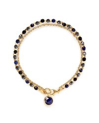 Astley Clarke | Blue 'Be Very Mysterious' 18K Gold Lapis Lazuli Friendship Bracelet - Mystery & Protection | Lyst