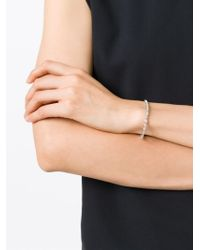 V Jewellery | Metallic 'simplicity' Bracelet | Lyst