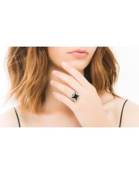 John Hardy - Black Classic Chain Large Braided Ring - Lyst