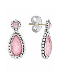 Lagos - Metallic 'maya' Teardrop Earrings - Lyst