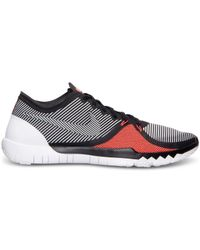 dec9e7904923d Lyst - Nike Men s Free Trainer 3.0 V4 Training Sneakers From Finish ...
