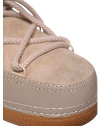 Ikkii | Natural Classic Low Suede & Leather Boots | Lyst