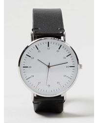 TOPMAN - Black And White Watch* for Men - Lyst