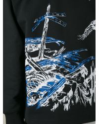 McQ - Black Doom Track Print Sweatshirt for Men - Lyst