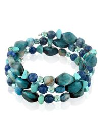 Lord & Taylor | Blues Multi-Stone Stacked Bracelet | Lyst