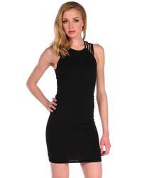 Donna Mizani | Multicolor Ultra Soft Multi Strap Dress | Lyst