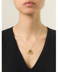 Aurelie Bidermann | Metallic Mini 'clover' Necklace | Lyst
