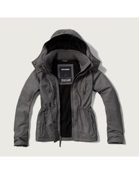 Abercrombie & Fitch - Black A&f All-season Weather Warrior Jacket - Lyst
