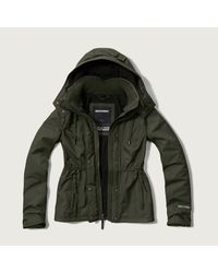Abercrombie & Fitch - Green A&f All-season Weather Warrior Jacket - Lyst