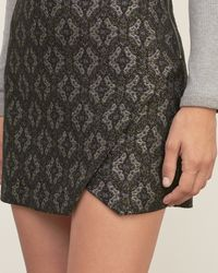Abercrombie & Fitch - Multicolor Jacquard A-line Skirt - Lyst