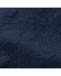 Abercrombie & Fitch - Blue Textured Patterned Shirt for Men - Lyst