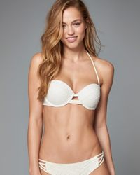 Abercrombie & Fitch - Multicolor Perfect Push Up Bandeau Top - Lyst