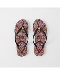 Abercrombie & Fitch | Pink Rubber Flip Flops | Lyst