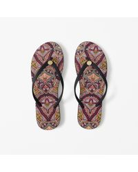Abercrombie & Fitch - Pink Rubber Flip Flops - Lyst