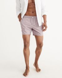 Abercrombie & Fitch - Purple Classic Trunks for Men - Lyst