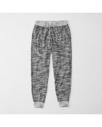 Abercrombie & Fitch - Gray Cozy Knit Jogger - Lyst